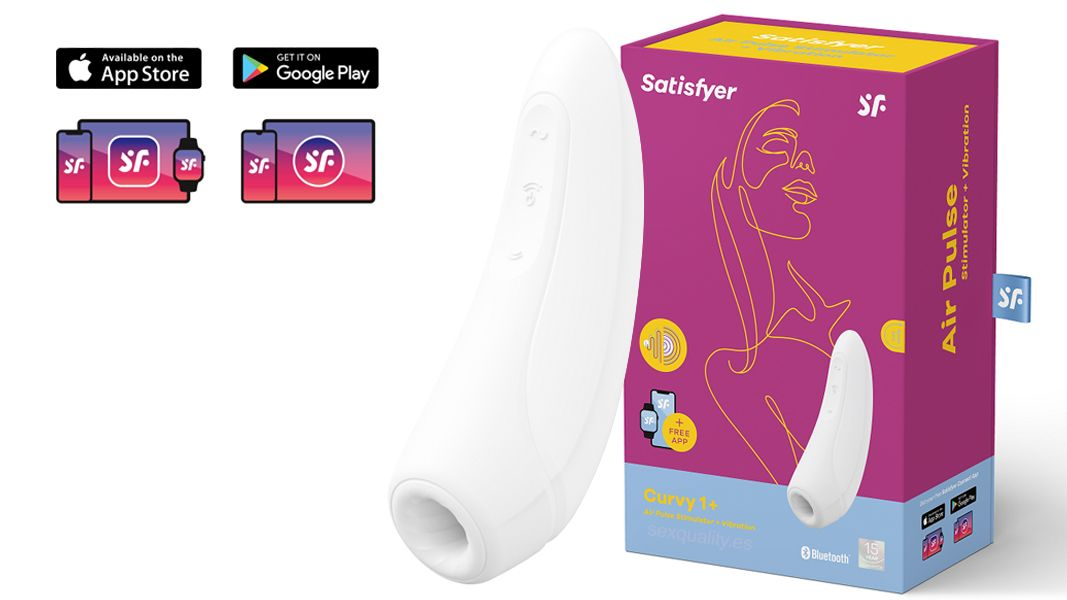 Satisfyer CURVY 1+  Air Pulse Stimulator + Vibration